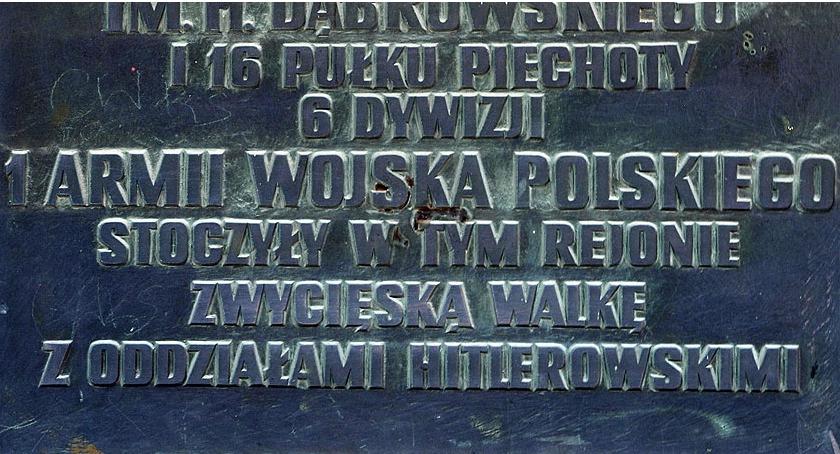 Pomniki , Tablice historii - zdjęcie, fotografia