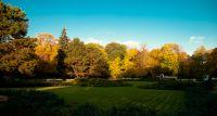 Park Ujazdowski jesienną porą [FOTO]