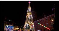 Świąteczna iluminacja na Starówce